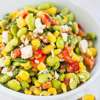 Edamame Feta Salad.