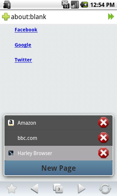 Harley Browser - screenshot