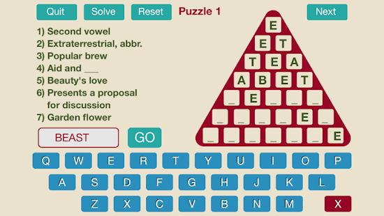Word Triangle Pro - screenshot thumbnail