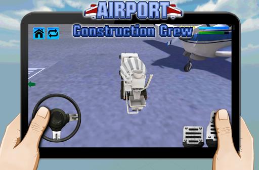 機場建設船員
