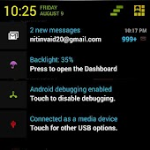 CM10.1 Neon Color Dark Theme