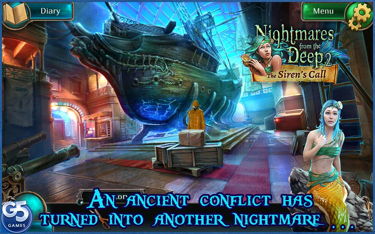 Nightmares from the Deep® 2 screenshot #1