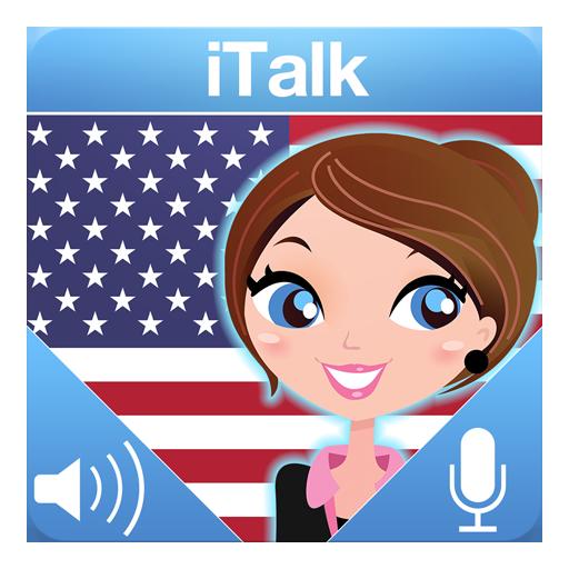 美国英:交互式对话 - 学习讲 -门语言 教育 LOGO-阿達玩APP