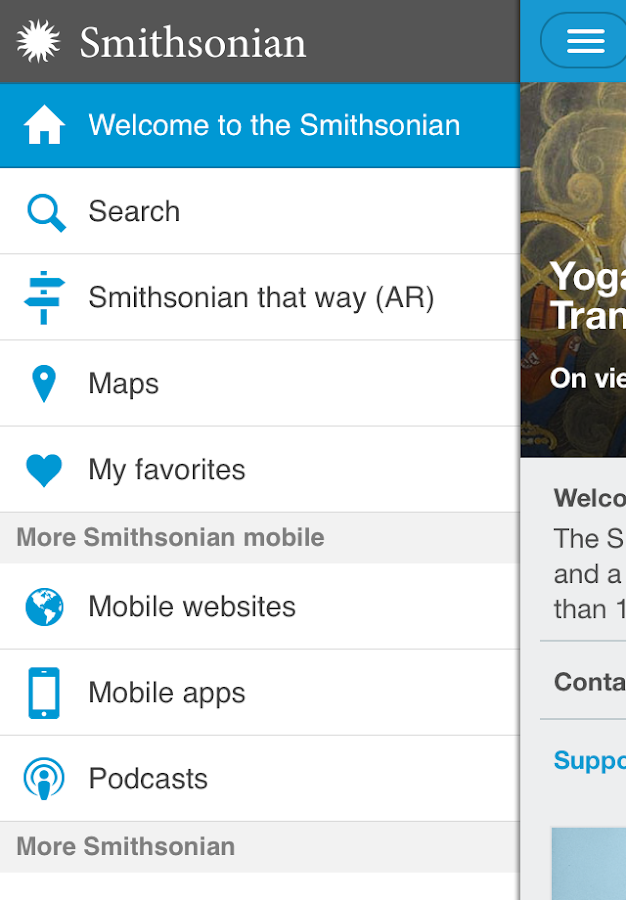 Smithsonian Mobile- screenshot