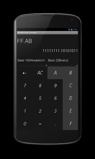 Base Converter Fractions