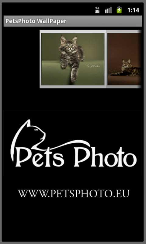Pet Photo WallPaper- screenshot