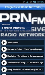 Progressive Radio Network - screenshot thumbnail