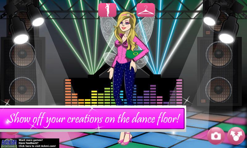 Ackmi Dress Up 2 Girls Game - screenshot