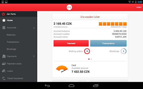Era smartbanking - screenshot thumbnail