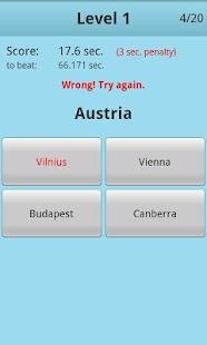 Countries Capitals Quiz PRO - screenshot thumbnail