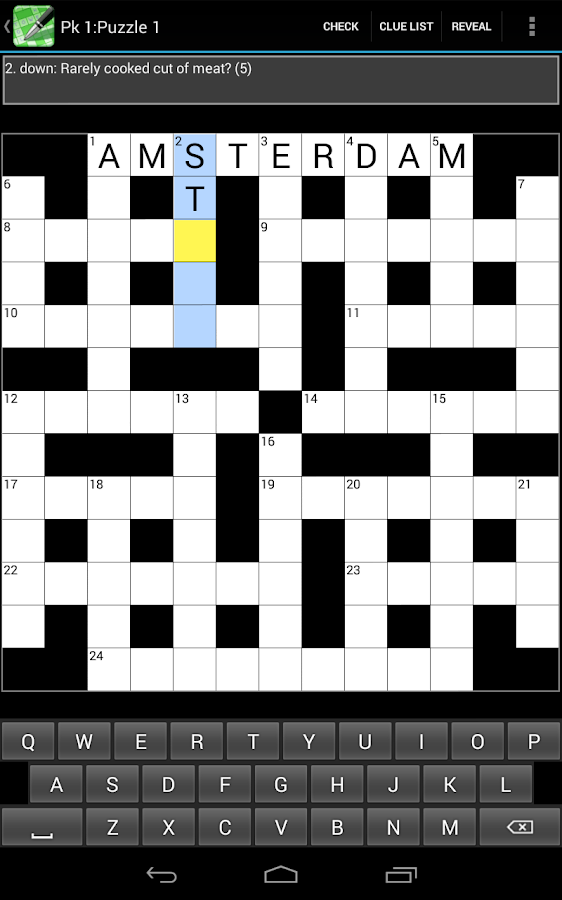 Crossword Cryptic Lite- screenshot