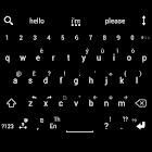 Theme for A.I.type Flat Black icon