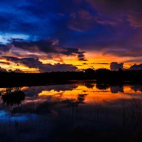 Encore by Hans-Erik Arp - Landscapes Sunsets & Sunrises ( clouds, colourful, sky, african, sunset, south africa, landscape )