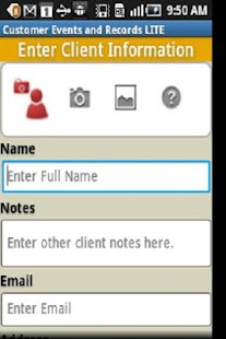 Customer Events Records CRM-L - screenshot thumbnail