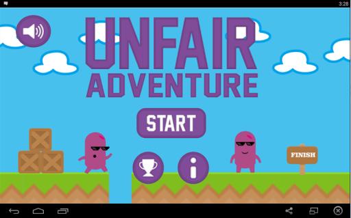 Unfair Adventure