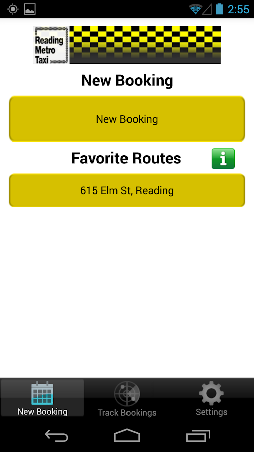 FIND A TAXI READING METRO TAXI- screenshot