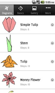 Origami Flowers- screenshot thumbnail