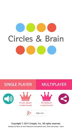 Circles Brain:1vs1 MULTIPLAYER