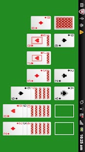 A - Solitaire card game screenshot
