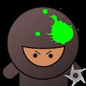 Ninja Splat logo