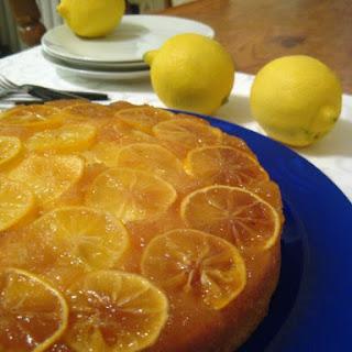 Lemon Upside Down Cake