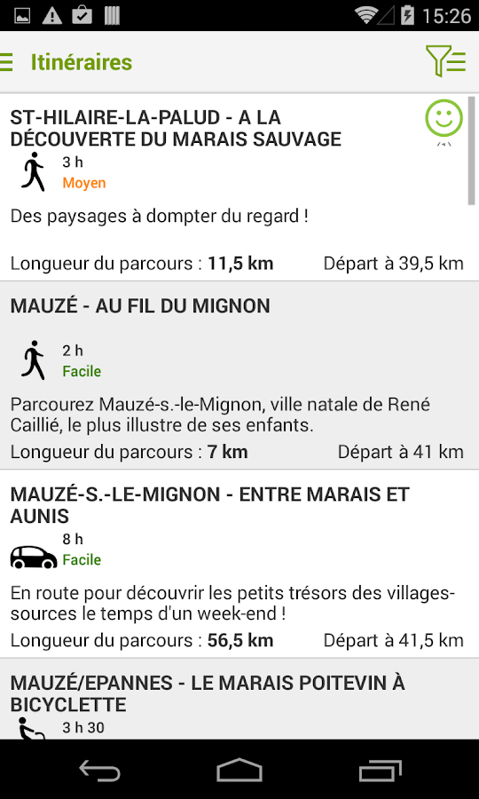 Niort Marais Poitevin Tour - screenshot