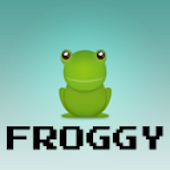 Froggy (Frogger clone)
