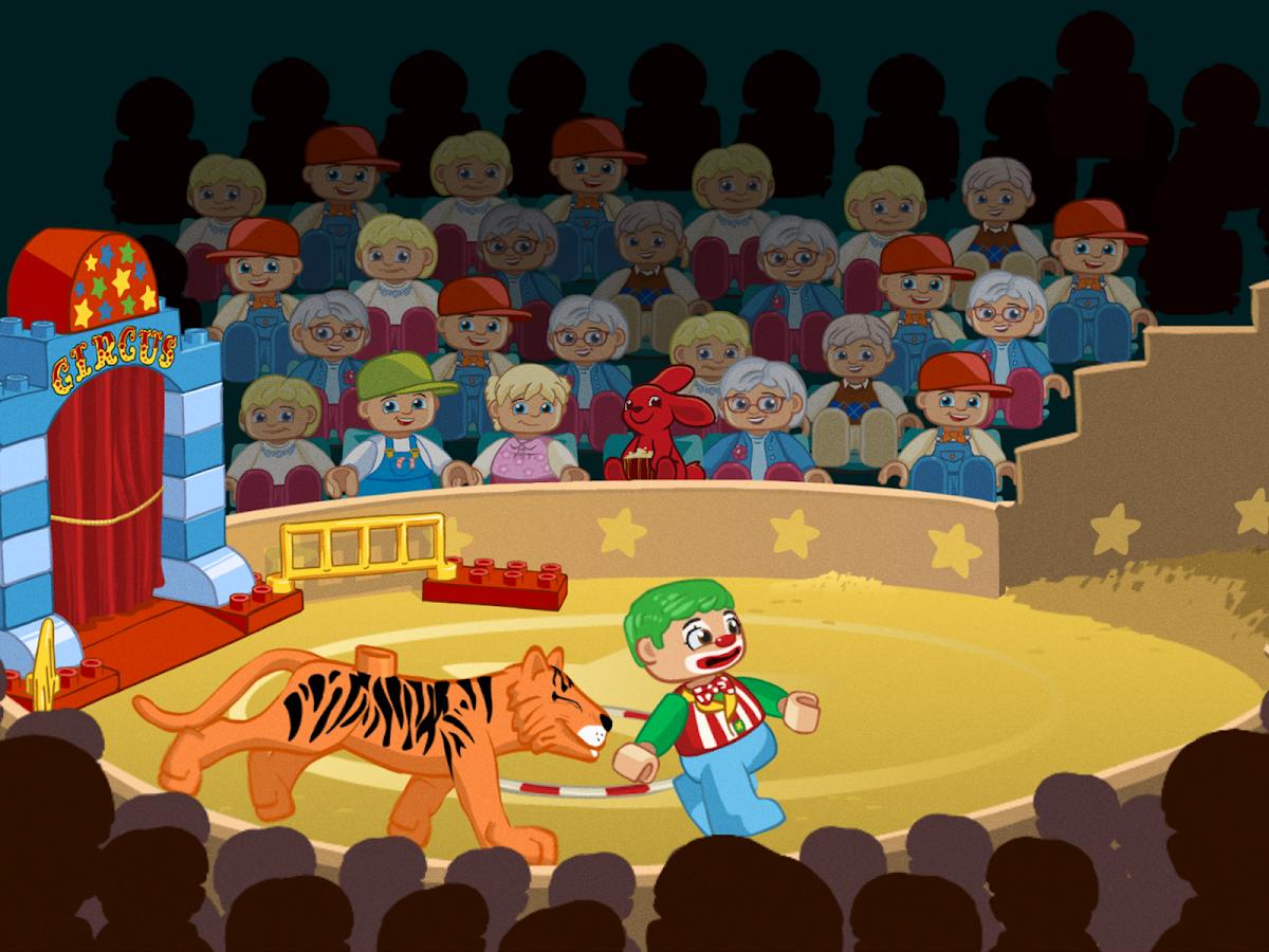 LEGO® DUPLO® Circus: captura de pantalla