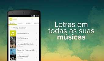 Screenshot of Letras.mus.br