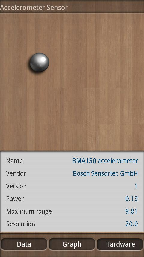 Sensor Box for Android- screenshot