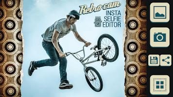 Screenshot of Retro Cam Insta Selfie Editor