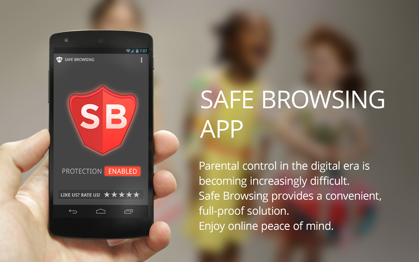 Safe Browsing Parental Control- screenshot