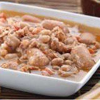 Frijoles Charros (beans).