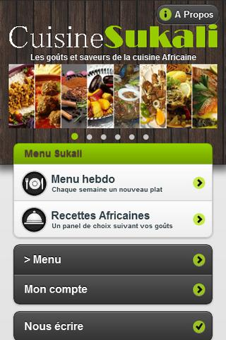 Sukali - Afro Food - screenshot