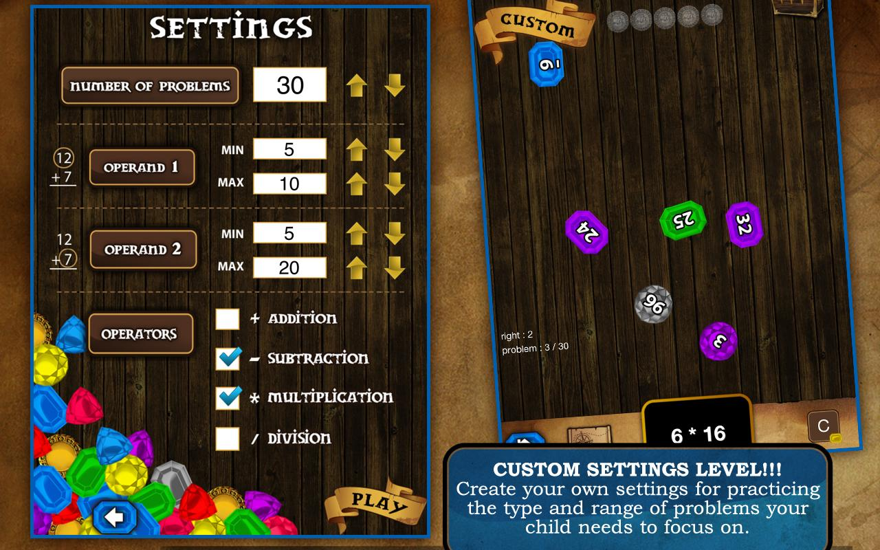 Learning Gems - Math 2.0 - screenshot