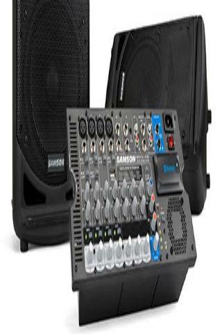 DJ SOUND MIXER COMPONENT