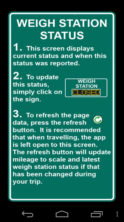 Weigh Stations - screenshot