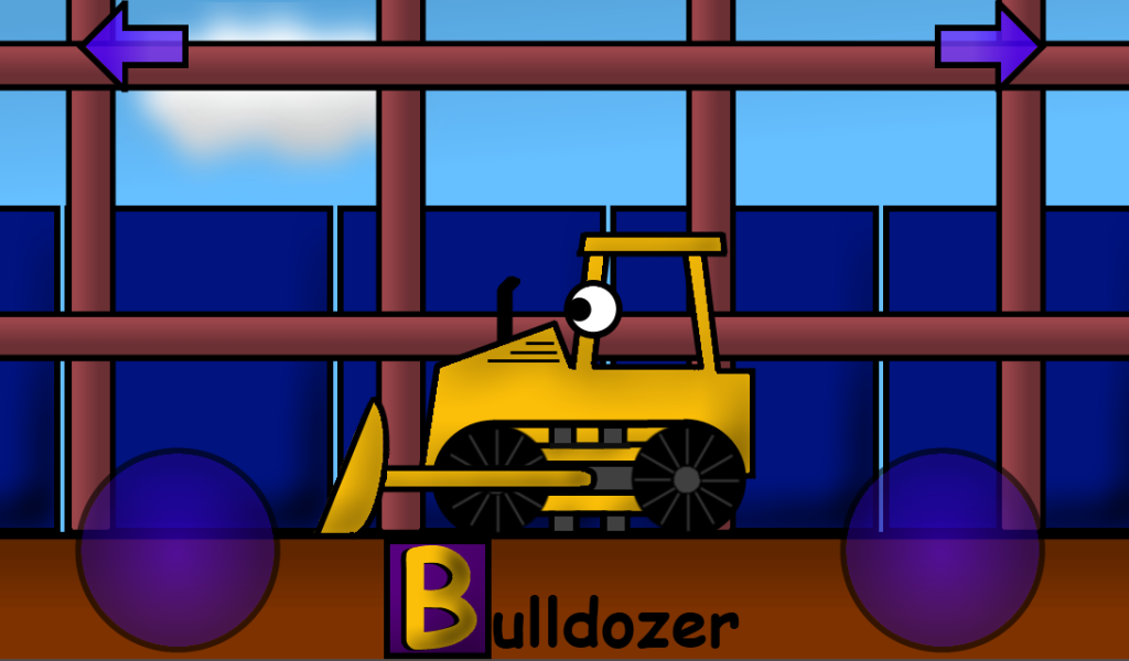 Construction Alphabet for Kids - screenshot