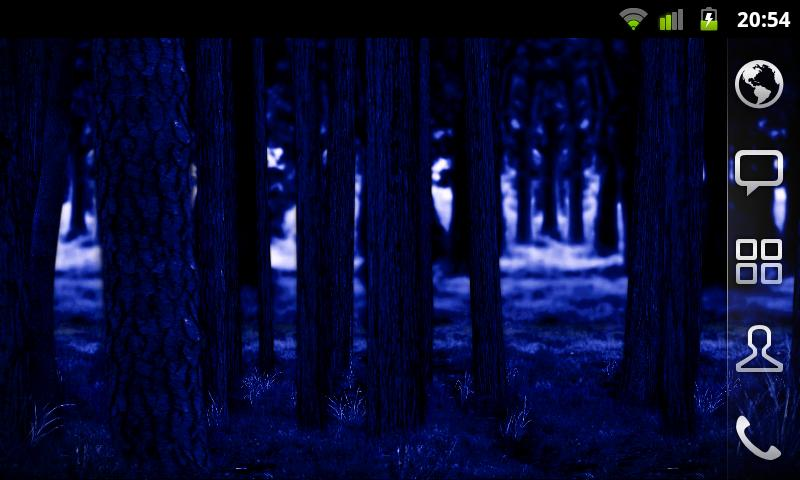RealDepth Forest LWP Screenshot 8