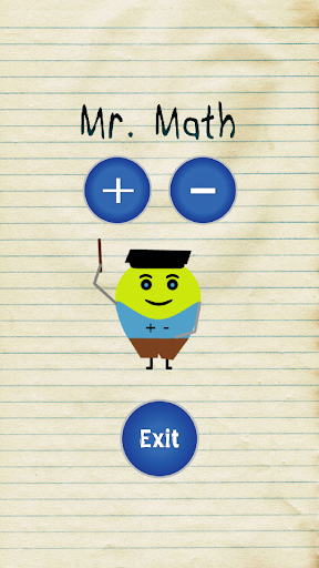 Mr. Math for children