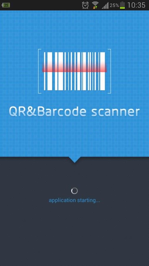 QR&Barcode Scanner - screenshot