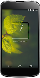Jelly Bean Clock Widget- screenshot thumbnail