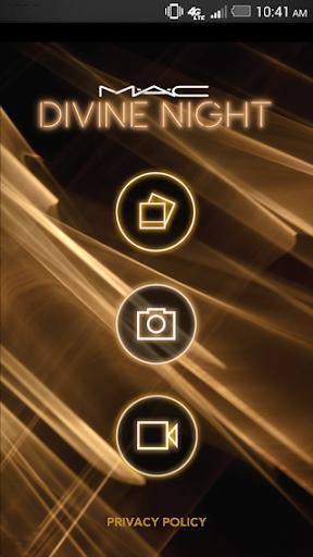 【免費攝影App】MAC Divine Night-APP點子