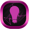 Pink Neon GO Launcher Theme icon