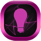 Pink Neon GO Launcher Theme APK for Blackberry