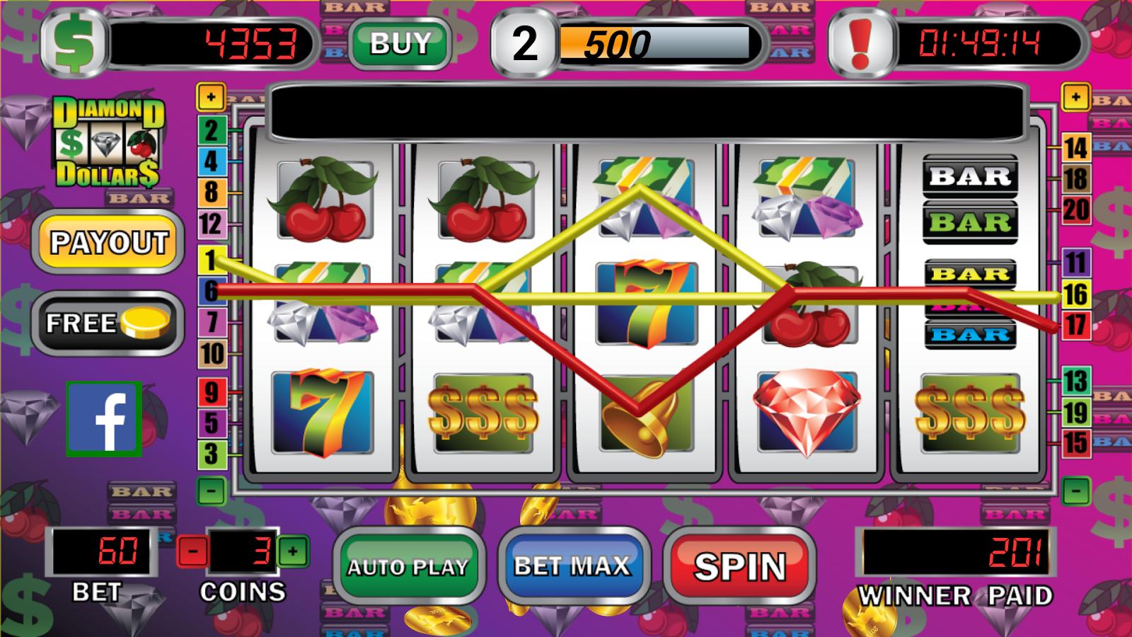 play top dollar slot machine free
