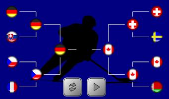 Screenshot of Finger Hockey