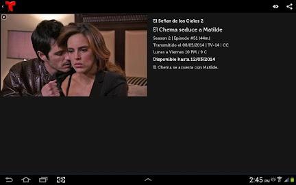 Telemundo Now Screenshot 10