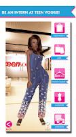 Screenshot of Teen Vogue Me Girl