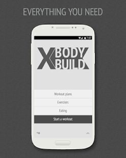 XBodyBuild Lite - náhled